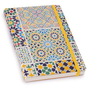 V&A lined journal, Moresque No.5