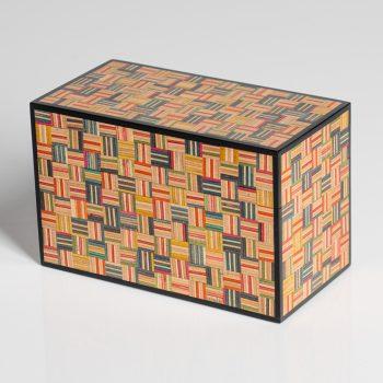 Skateboard box by Mark Barlow, Beech
