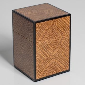 Bookmatched endgrain by Mark Barlow