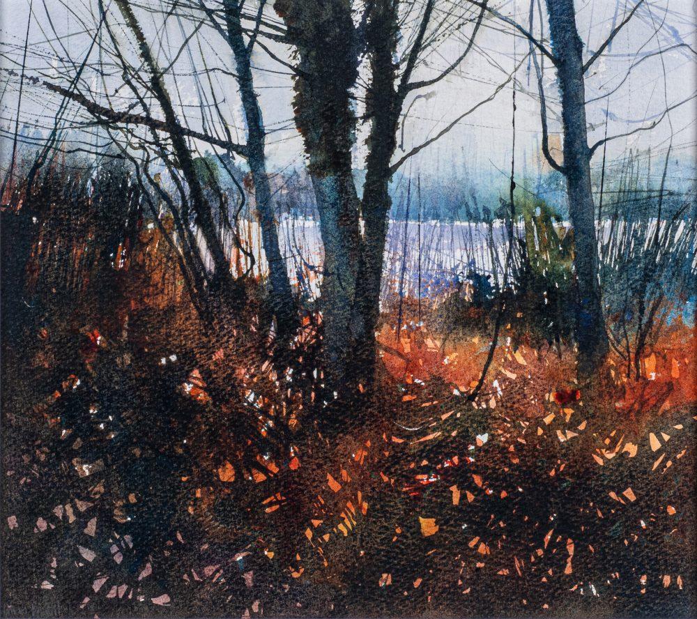 Wetland Reds by David A Parfitt RI