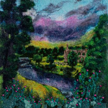 Bolton Abbey by Janine Jacques, felt
